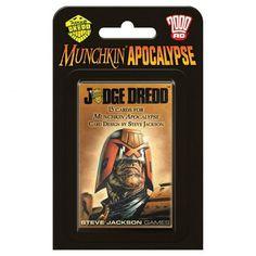 Steve Jackson Games Munchkin Apocalypse: Judge Dredd Blister Pack