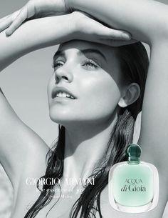Barbara Palvin by Karim Sadli for Giorgio Armani Acqua Di Gioia Fragrance 2017 Campaign