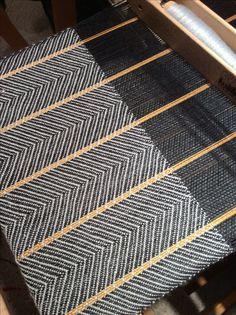 August 12, 2015  Alpaca silk warp..at 20 epi, merino tencil weft  Next time I will do 24 epi!