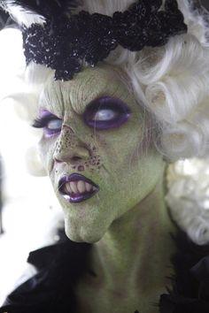 Halloween Hexe Kostüm und Make-up – 30 Ideen und Tipps … - Halloween Make-up Costume Halloween, Halloween Makeup Witch, Halloween Look, Witch Makeup, Scary Makeup, Fx Makeup, Halloween 2019, Happy Halloween, Makeup Ideas