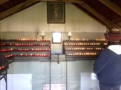 Visit to candles place at Marmora, Ontario, Canada