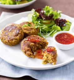 Vegetable and lentil burgers  - Better Homes and Gardens - Yahoo!7