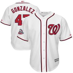 Gio Gonzalez Washington Nationals Majestic 2018 All-Star Game Home Cool  Base Player Jersey – White 6078eeea0