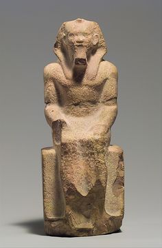 Unfinished Seated Statue of King Menkaure  Date: ca. 2490–2472 B.C.  Accession Number: 37.6.1
