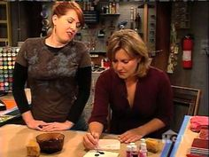 "Tiffany on ""Craft LAB"" - TV Show"