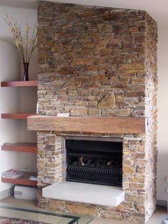stone fireplaces des