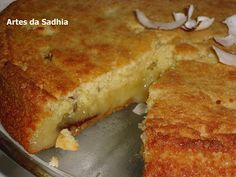 Artes da Sadhia na cozinha : bolo de mandioca da revista Ana Maria