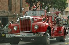 Mack Fire Trucks sffd | San Francisco Fire Dept. SFFD - Antique Firetruck | Flickr - Photo ...