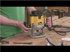 How to Use a Plunge Router. One of the most versatile electric tools available to a woodworker is the router. The router comes in 2 forms, the fixed base and the plunge base. The router used most by the woodworker is the plunge base. Woodworking Tools For Sale, Essential Woodworking Tools, Unique Woodworking, Woodworking Books, Router Woodworking, Learn Woodworking, Woodworking Lessons, Woodworking Patterns, Woodworking Machinery
