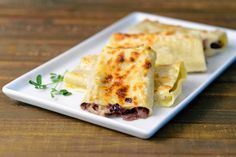 Radicchio cannelloni is especially easy to assemble with help in the kitchen and can be made in just 35 minutes.