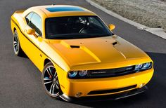 Dodge Challenger 2012 Yellow Jacket!!! This is my NEW car. Six speed manual tranny. Everything I wanted in my 2010 SRT8 Challenger. LOVE this new car. They only made 1,000.
