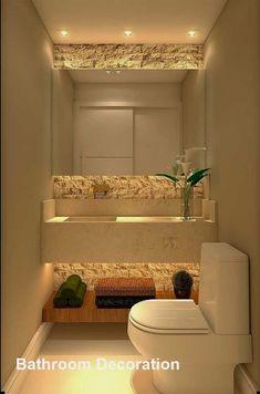 Bathroom Design Small, Bathroom Interior Design, Interior Design Living Room, Modern Bathroom, Master Bathroom, Bathroom Mirrors, Bathroom Cabinets, Master Master, Bathroom Designs