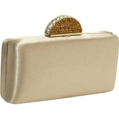 Dressy nude clutch. <3 want <3 ~     Disclaimer: This is an amazon.com affiliated link.