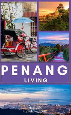 What It's Like Living in Penang. The blend of history, culture and nature makes Penang Island an interesting destination to visit. A former outpost of the British Empire, the state of Penang in Malaysia's north-west consists of Penang Island (home to the state's capital and UNESCO World Heritage George Town) and Seberang Perai (the largest and most well-known place here is Butterworth). #penang #malaysia #living #expat #lifestyles Tokyo Japan Travel, Japan Travel Tips, China Travel, Bali Travel, Travel Route, Places To Travel, Amazing Destinations, Travel Destinations, Penang Island