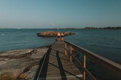 10 Best Islands To Visit in the Gothenburg Archipelago • I, Wanderlista Gothenburg Archipelago, Famous Lighthouses, Over The Bridge, Arch Bridge, Sweden Travel, Nature Reserve, Big Island, Beautiful Islands, Travel Inspiration