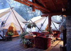 Forget roughing it in the wilderness! From teepees to tree houses, here's where to go glamping in Canada and enjoy the great outdoors in sheer comfort.