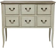 Maisonette Chest 6 Drawer Cream. A Block and Chisel Product.