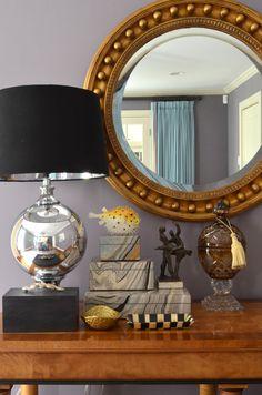 Mimosa Lane: Lamp Inspired Vignette