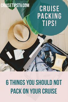Creating a packing list is a great way to stay organized, and it's always important to know what you should NOT pack on a cruise. Cruise Packing Tips, Carry On Packing, Packing Checklist, Cruise Travel, Cruise Vacation, Cruise Excursions, Best Cruise, Cruise Ships, What To Pack