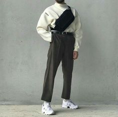 New Fashion Street Photography Clothes Ideas Korean Fashion Men, Boy Fashion, Mens Fashion, Fashion Outfits, Fashion Trends, Runway Fashion, Mode Streetwear, Streetwear Fashion, Style Masculin