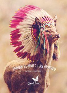 Center Parcs: Indian summer