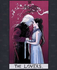 Post with 4692 votes and 149822 views. Tagged with game of thrones, tarot; Game of Thrones Tarot Cards Dessin Game Of Thrones, Arte Game Of Thrones, Game Of Thrones Artwork, Game Of Thrones Funny, Game Thrones, Rhaegar E Lyanna, Jon E Daenerys, Daenerys Targaryen, Character Art