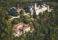 Hluboka castle, Hotel Štekl, Czech republic, South Bohemian region