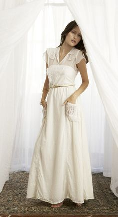 a different spin on the casual wedding dress