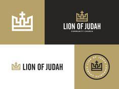 Lion of Judah Final Logos by Brooks Hungate
