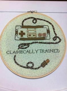 I like the idea of stitching a controller for our media room