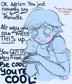 Yea, starting In which Adrien recently learned Marinette is Ladybug and Marinette is clueless about it Miraculous Ladybug Fanfiction, Miraculous Characters, Miraculous Ladybug Fan Art, Ladybug And Cat Noir, Meraculous Ladybug, Miraculous Wallpaper, Marinette And Adrien, Kids Shows, Lady Bug