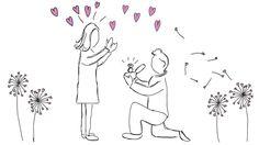 Happy Valentines - illustration @ Stina Tuominen