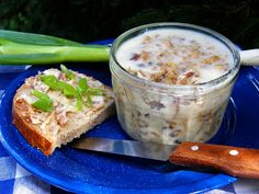 Recept na Rillettes / rijet / Slovak Recipes, Russian Recipes, No Salt Recipes, Multicooker, Crockpot, Brunch, Food And Drink, Menu, Pudding