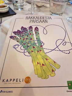 Kahvakuula kainalossa: Yksi kevään merkeistä on parsaviikot Kappelissa