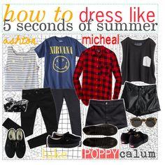 How to dress like 5sos