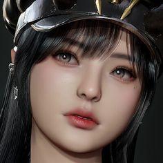 Kawaii Anime Girl, Anime Art Girl, Female Character Design, Character Art, Cg Art, Digital Art Girl, Pretty Art, Girl Face, Female Characters