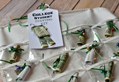 College Survival Kit: One of the funnest gives you can give to a soon-to-be college student!