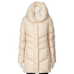 Women's Hemisphere Pillow Collar Down Puffer Jacket, Size: