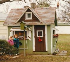 Free Playhouse Plans - Built by Kids