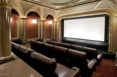 Home theather. Wow! One day- we can wish right?