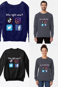 Unisex sweatshirt, click on the link for more colors, styles and designs. Order yours now. ♥