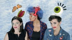 Super Surreal Halloween Headpieces (That Work With Your Own Wardrobe)