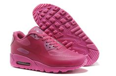 Wine Red Nike Air Max 90 Hyperfuse Premium Women s Shoes  Red  Womens   Sneakers fd5ee9b993