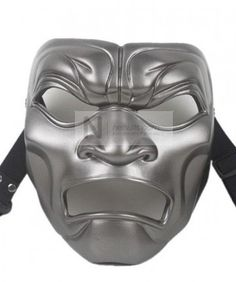 Zentai Mask for Persian Warrior  $45.99  http://www.nefsuits.com/zentai-mask-for-persian-warrior  Nefsuits zentai mask, 100% PE, original Persian Warrior, gray color, hollow eyes and mouth, with adjustable strap attached on each side of the mask.