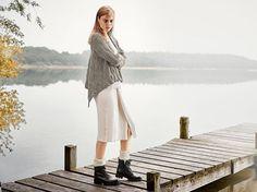DIY-Anleitung: Asymmetrischen Cardigan mit ausgefallenem Muster stricken via DaWanda.com