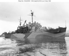 USS Catskill Class Mine Layer, Laid down, 12 July 1941, as Catskill AP-106 Launched, 19 May 1942. Reclassified Landing Ship Vehicle LSV-1, 21 April 1944. Commissioned USS Catskill (LSV-1), 30 June 1944, CAPT. Raymond W. Chambers, USNR, in command. During World War II USS Catskill was assigned to the Asiatic-Pacific Theater and participated in a serie of campaigns
