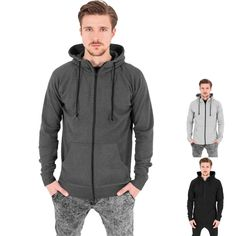 Heavy Interlock Raglan Zip Hoody von Urban Classics; in drei verschiedenen Farben erhältlich! #fashion #urban #raglan #style #urbanclassics #hoody #zipper http://rudestylz.de/interlock-raglan-zipper.htm