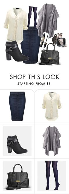 """""""Untitled #562"""" by domla ❤ liked on Polyvore featuring Devoted, Avenue, Avon, Max Factor and plus size clothing"""