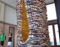 Matej Krén convierte los libros en impresionantes obras de arte