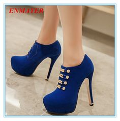 73.43$  Watch here - http://alidjo.worldwells.pw/go.php?t=32279676906 - ENMAYES mature and sexy women fashion boots solid Metal fasteners thin heels shoes forgirls ankle boots grade scrub winter boots